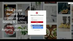 Using Pinterest as Your Quilting Inspiration -