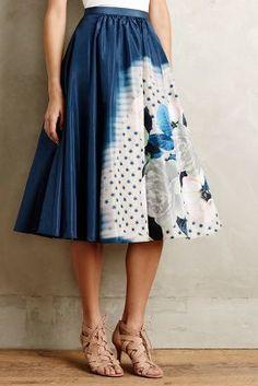 Tracy Reese Moonflower Skirt