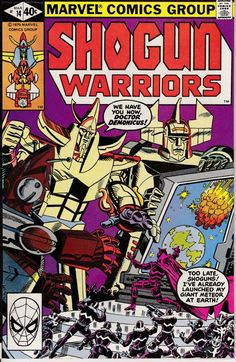 Shogun Warriors 1979 14 April 1980 Issue  Marvel by ViewObscura