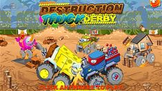 Fun Game for Kids - Destruction Truck Derby - Championship Action Games For Kids, Games For Kids Classroom, Fun Games For Kids, Learning Stations, Movement Activities, Destruction, Derby, Monster Trucks
