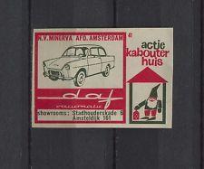 Daf Variomatic Vintage Dutch Matchbox Label No.41 | eBay