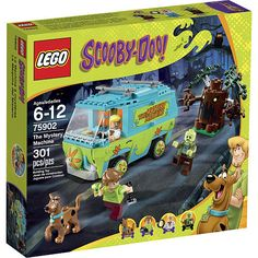 For sale is Lego Set 75902 for the Scooby Doo and the Mystery Machine. Escape from the spooky forest with Scooby-Doo, Fred and Shaggy! Avoid getting trapped in the branches of the spooky tree and jump into The Mystery Machine to get away. Lego Scooby Doo, Scooby Doo Mystery, Lego Building Sets, Lego Sets, Toys R Us, Legos, Arma Nerf, Mystery Machine Van, Spooky Trees