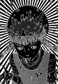 Girl digging brains Comics Series Shintaro Kago manga Akira Toriyama Retro Vintage Poster Canvas Wall Art Home Posters Decor canvas wall poster canvas canvas wall art - AliExpress Junji Ito, Japanese Horror, Japanese Art, Arte Horror, Horror Art, Manga Akira, Art Sinistre, Ero Guro, Creepy Art