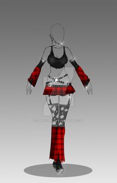 (closed) Auction Adopt - Outfit 282 by CherrysDesigns