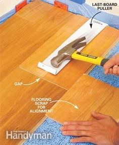 A Snap Together Fastening System Simplifies Laminate Floor Laying No Glue No Nails