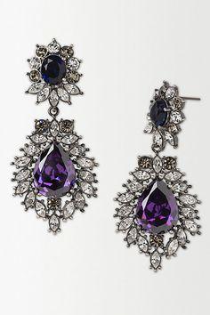 Harlequin Crystal Earrings
