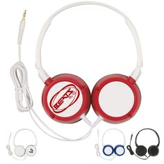 Promotional Mega Headphones | Customized Mega Headphones | Logo Headphones Business Promotional Giveaways #business #promotions  http://www.promotion-specialists.com