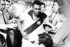 Pelé, atuando pelo Vasco da Gama