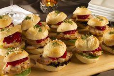 Mini Turkey & Cranberry Sandwiches [1200800]