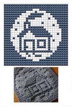 Home Knit Dish cloths Pattern Knitting Blocking, Knitting Squares, Dishcloth Knitting Patterns, Crochet Dishcloths, Knitting Charts, Knitting Stitches, Knitting Designs, Knit Patterns, Knitting Projects