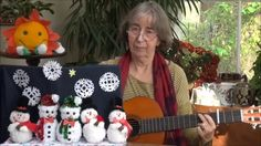 Five little men made out of snow - a subtraction song for Winter