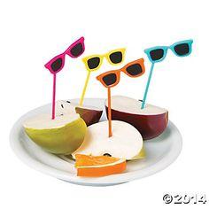 Sunglasses Cupcake Picks | 72 ct