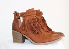 Clydesdale Fringe Booties