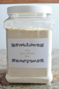 Jiffy Corn Muffin Mix without all the preservatives.