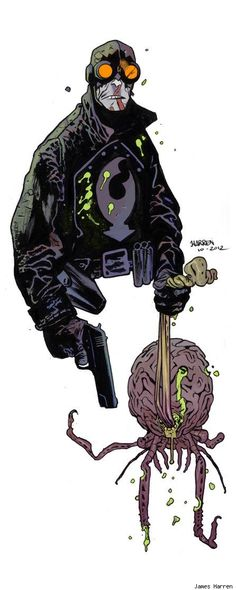 Lobster Johnson.  Best Art Ever (This Week) - 12.07.12 - ComicsAlliance | Comic book culture, news, humor, commentary, and reviews