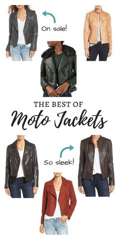We are loving the moto jacket trend! Here is a roundup of the best moto jackets you can find right now, including both splurges and steals! Fashion // Trends // Winter // Spring // Style