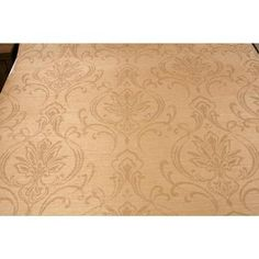 CX1211 - Candice Olson Dimensional Surfaces Scrolling Damask Wallpaper - Golden Maize