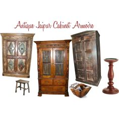 """Art Deco Armoire Free Shipping"" by mogulinteriordesigns on Polyvore"