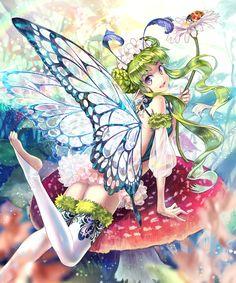 光妖精クレア