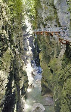 Gorges du Fier near Annecy France