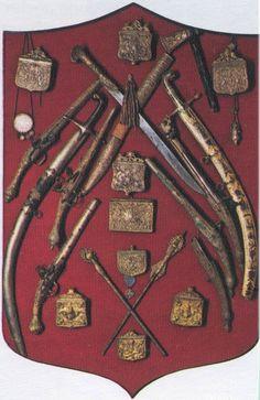 Τα όπλα των Πετιμεζαίων (Μονή Αγίας Λαύρας), Καλάβρυτα.