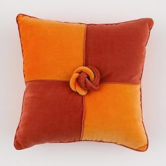 Four-Patch Knot Pillow DIY ... http://www.bhg.com/decorating/do-it-yourself/accents/simple-sew-pillows/#