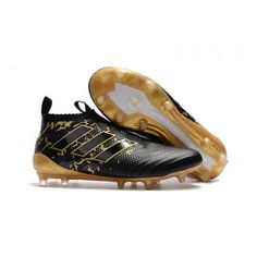 sale retailer bca39 95ac0 Adidas ACE 17 Purecontrol Firm Ground Football Boot Black Gold