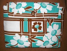 Recycled Vintage Tablecloth Laptop Sleeve/Bag by RecycledMemories, $23.50