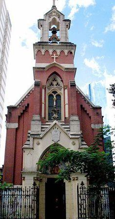 Capela do Menino Jesus e Santa Luzia - São Paulo - Brasil