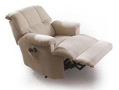 Sillon de tela relax abatible http://sofaslasrozas.com/sillones-relax/sillon-relax-modelo-cheste-tajoma-116.html
