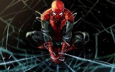 Spiderman Marvel comics fanart drawing Free HD Wallpaper