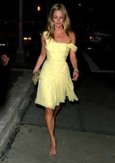 Kate Moss en 2003 à la soirée de Gwyneth Paltrow à Londres