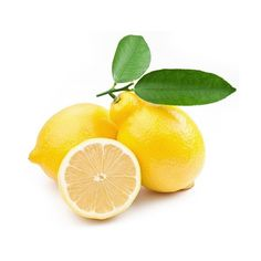 High-quality photo ripe lemons on a white background ❤ liked on Polyvore featuring food and drink