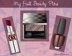 My fall beauty picks! #makeup #fall #beauty