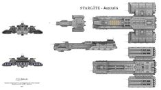 USAF Australis Fan design based on the TV series Stargate. Commissioned for and designed by kim-andre Grosland
