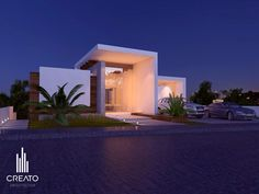 Las palomas house by Creato Arquitectos, via Behance