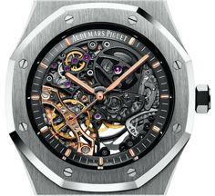 Audemars Piguet Royal Oak Double Balance Wheel Openworked Watch Watch Releases