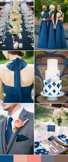 Blue wedding color trends for 2016 spring | TOP 10 Wedding Colors for Spring 2016, Part One