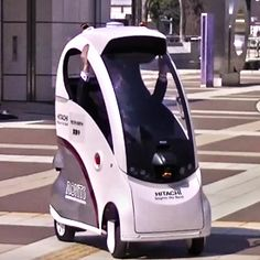 ROPITS (Robot for Personal Intelligent Transport System), or self driving car