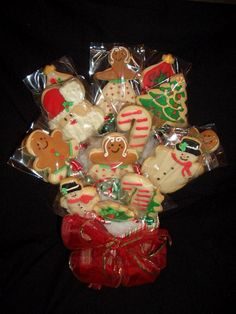 Christmas Cookies on a stick