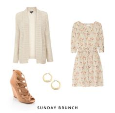 Sunday brunch outfit.
