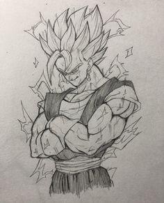 Dragon Ball Image, Dragon Ball Gt, Dragon Art, Ball Drawing, Goku Drawing, Mega Anime, Dbz Drawings, Graffiti Doodles, Drawing Superheroes