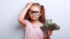 o pieniądzach z dziećmi