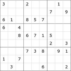 Pasatiempos para Imprimir: Sudoku nº 100