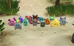 Hi, today I bring you conversion of Holopets from TS3 Into the Future. I tried make them look as close as they appear in TS3 so they´re cloned from a table lamp and cost §300. Turn them on and enjoy their cute blinking eyes =D DOWNLOAD