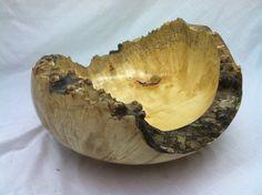 natural edge box elder burl bowl by AMakersKnack on Etsy                                                                                                                                                                                 More