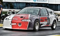 SpeedFactory outlaw civic! 8.08mph @ 190 mph