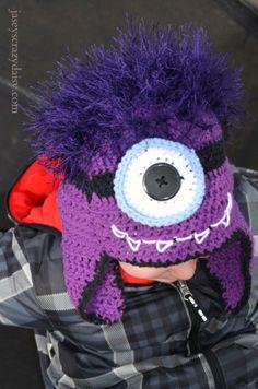 DIY Monster Minion Hat | Jasey's Crazy Daisy