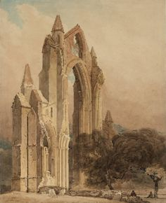Thomas Girtin Guisborough Priory, Yorkshire 1801