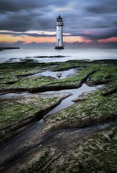 "sapphire1707: "" Perch Rock Lighthouse 